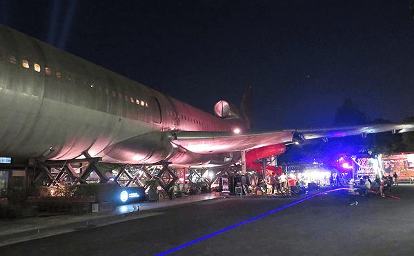 バンコクのチャーンチュイ2019の飛行機