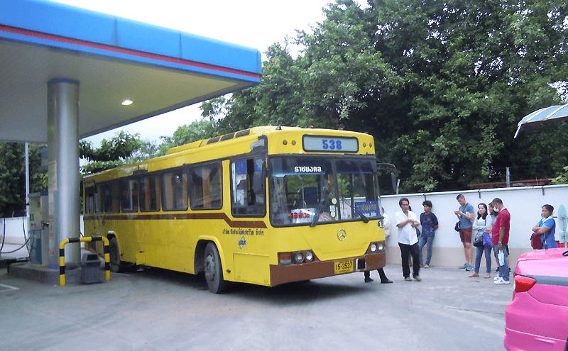 バンコク538番のバス