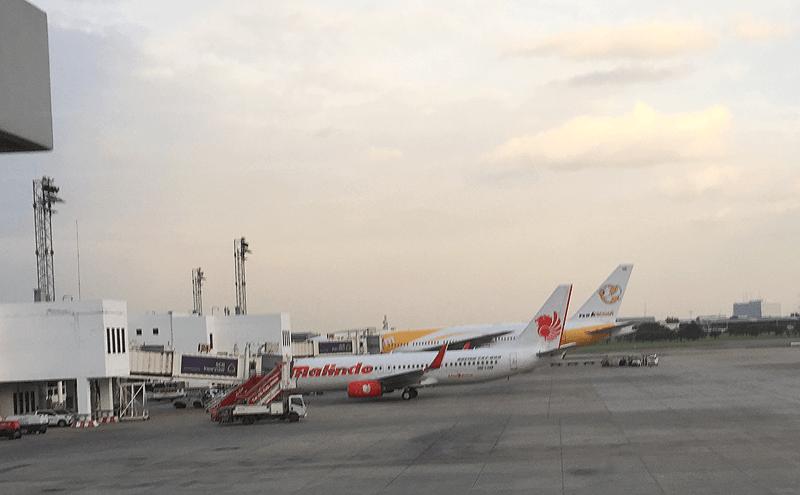 バンコクのドンムアン空港