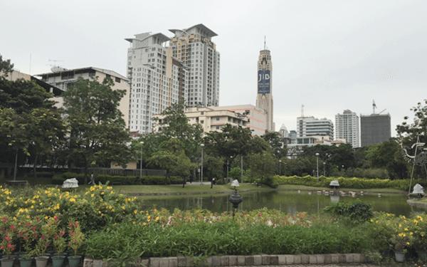 バンコクのサンティパープ公園