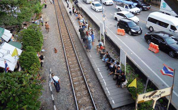 タイ国鉄アソーク駅