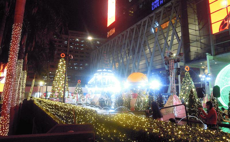 セントラルワールドのクリスマスツリー