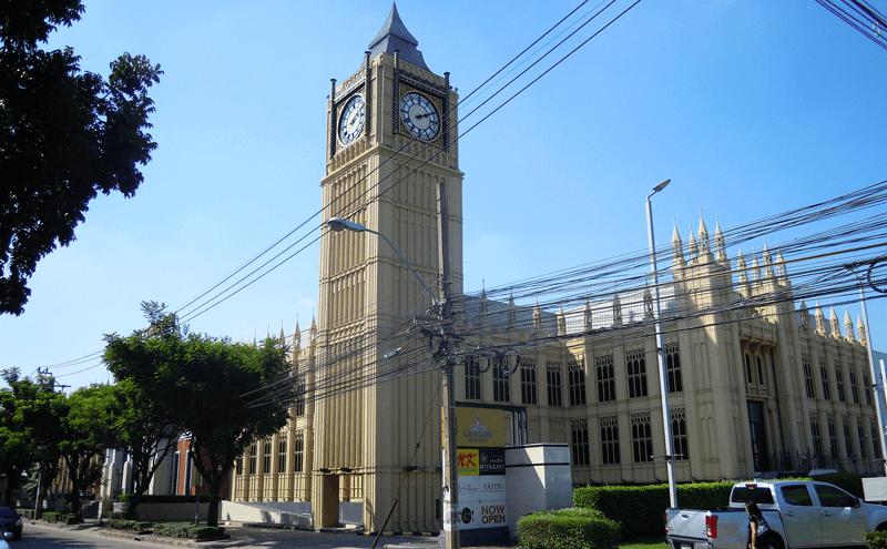 バンコクのロンドンストリート