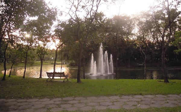 バンコクのクィーンシリキット公園