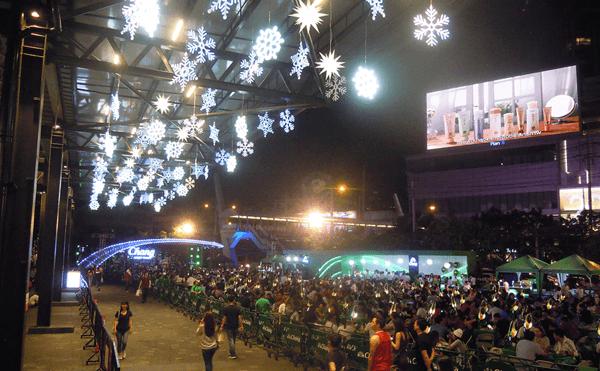 バンコク2018ストリートラチャダのクリスマス