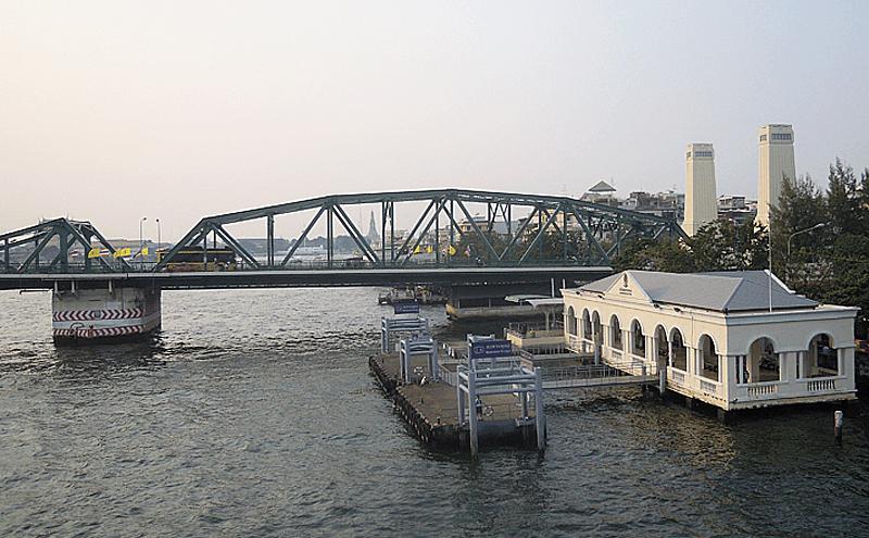 バンコクのメモリアルブリッジ