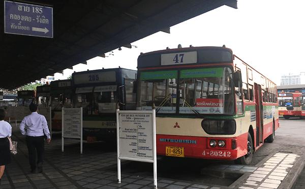 バンコクのクロントーイバスターミナルトーイ