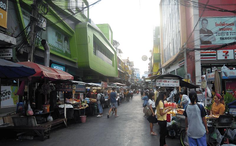 バンコクバンケーンにあるアモンファン市場