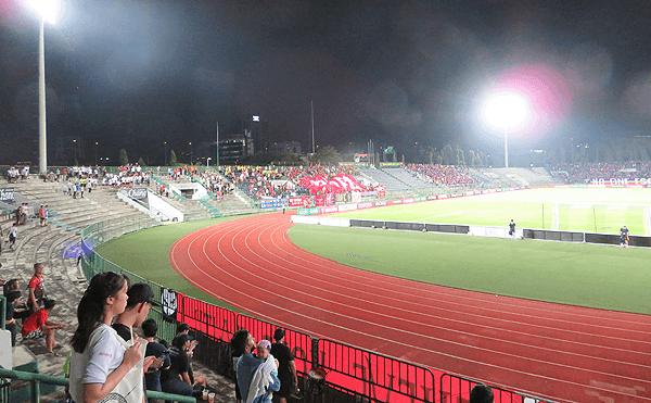 タイリーグfacup-semi-final、バンコクユナイテッドVSポートFCの試合
