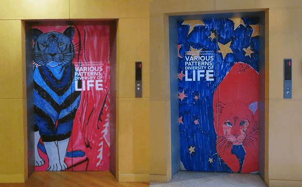 バンコククィーンズギャラリー エレベーター