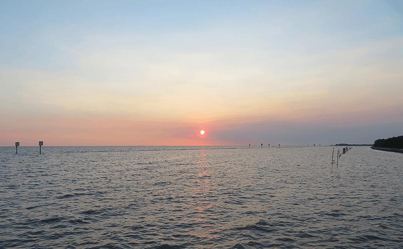 タイランド湾サンセット