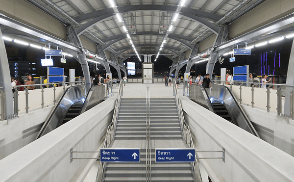 BTSハーヤック・ラプラオ駅
