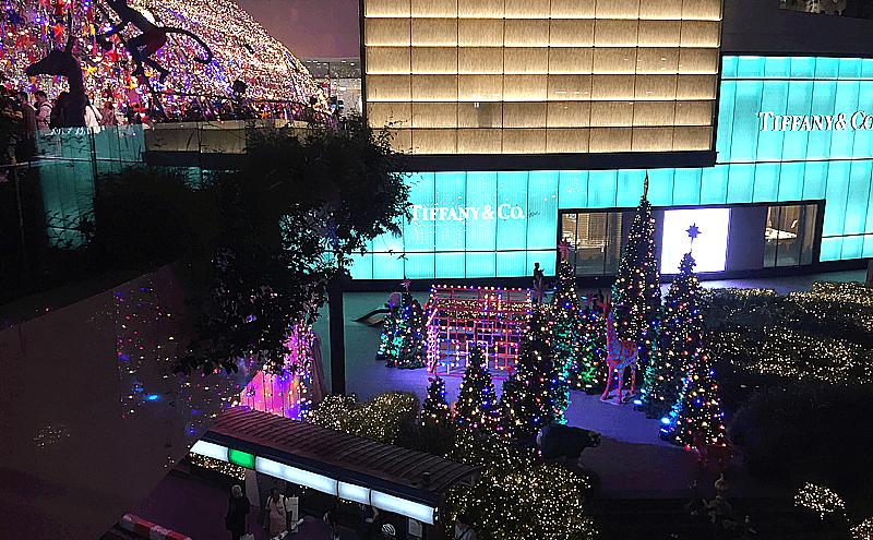 バンコクプロンポンのクリスマス
