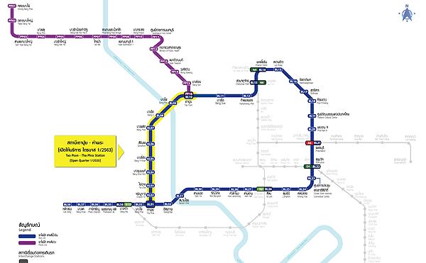 MRTのルートマップ