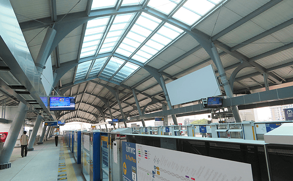 BTS charan13駅