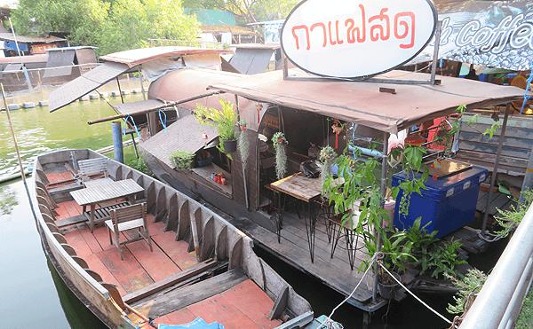 バンコクのクァン・リァム水上マーケット