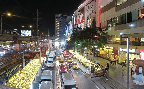 バンコクのバンカピのクリスマス