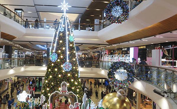 バンコクセントラルプラザラップラオのクリスマス
