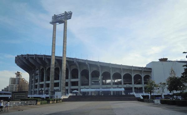 バンコクのラジャマンガラスタジアム