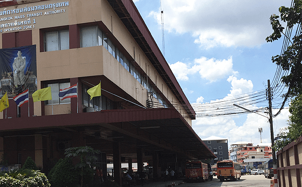 バンコクのバーンケーンバス営業所