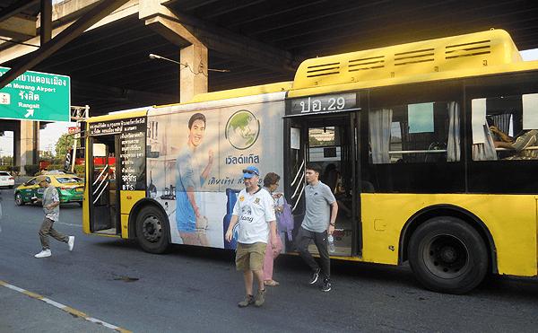 バンコク29番のバス