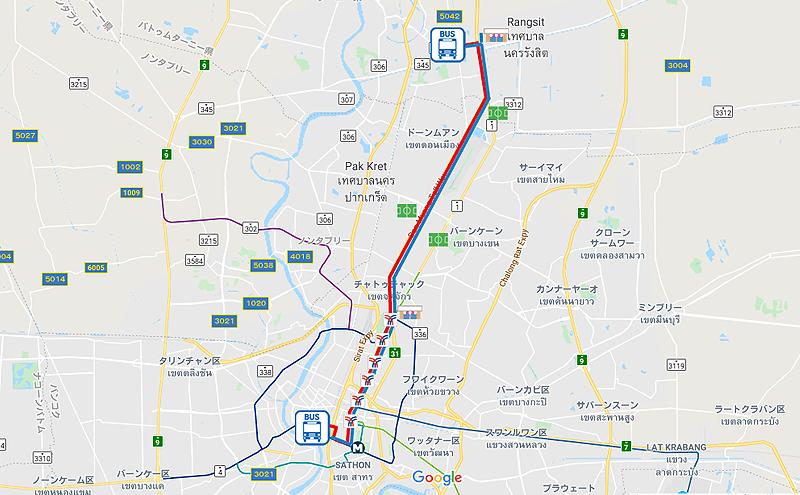 バンコク29番のバスルート