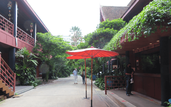 バンコクのジムトンプソンの家