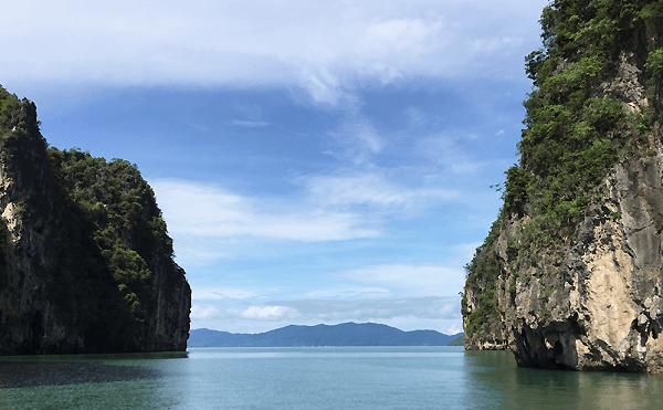 タイのクラビ島