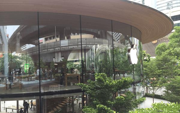 バンコクのApple shop2号店