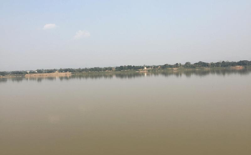 ナコンパノムのメコン川