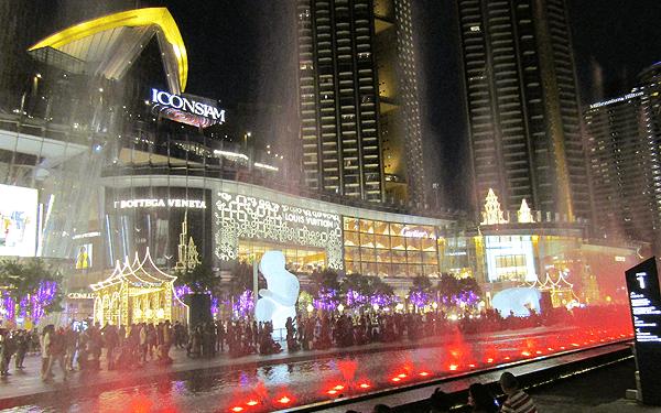 2020アイコンサイアムのクリスマス