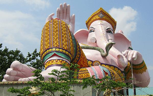 タイのナコンナヨックのガネーシャ・パーク