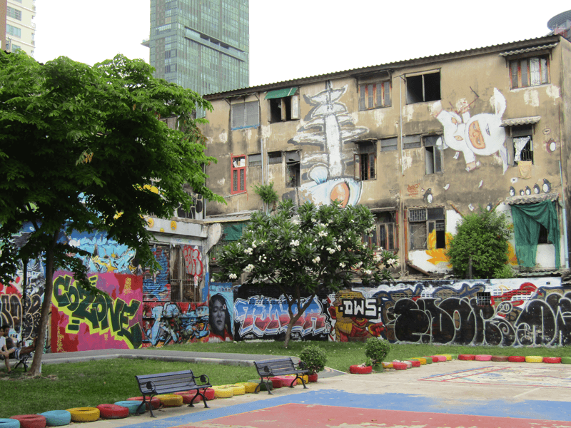 バンコクのチャルームラー公園