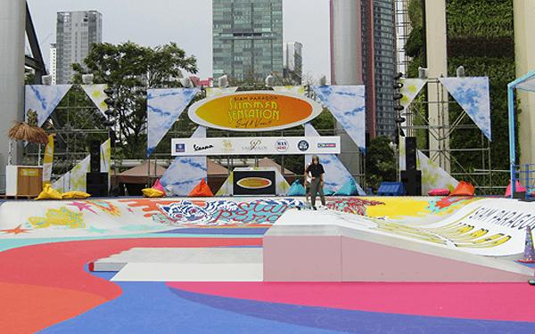 バンコクのスケートパーク