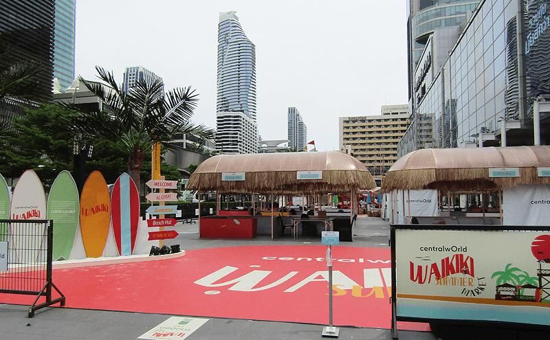 バンコク2021年ソンクラン