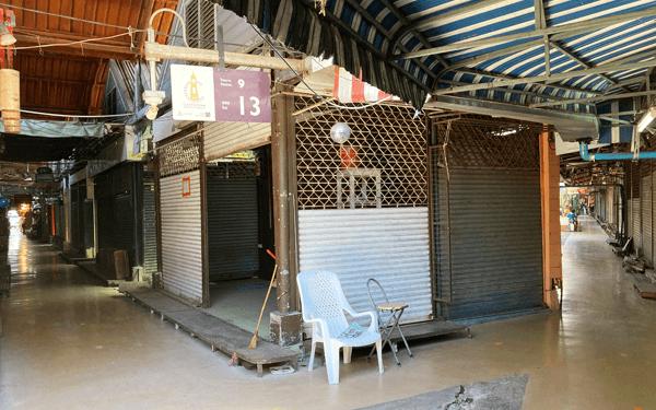 バンコクのチャットチャックマーケット