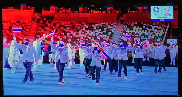 東京オリンピックタイ代表