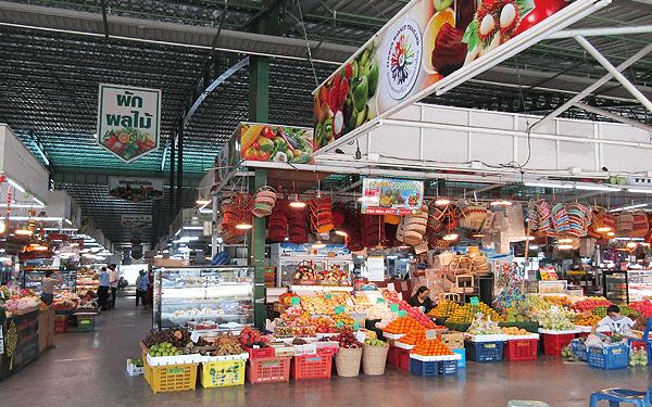 バンコク新パーククロー花市場